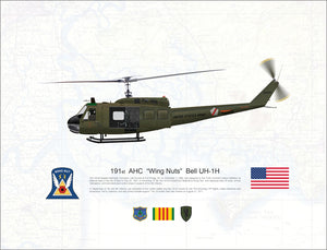 "191st AHC ""Wing Nuts"" Bell UH-1H Huey"