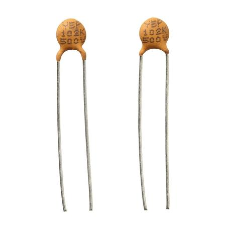 0.001uF 500V 20% Hi-Q Ceramic Disc Capacitor