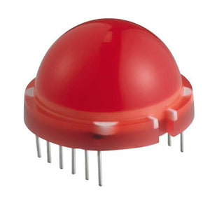 20.0mm Round Big LED (Red)