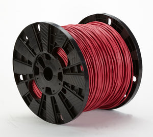 BELDEN 4/18 SOLID FIRE RED 18AWG
