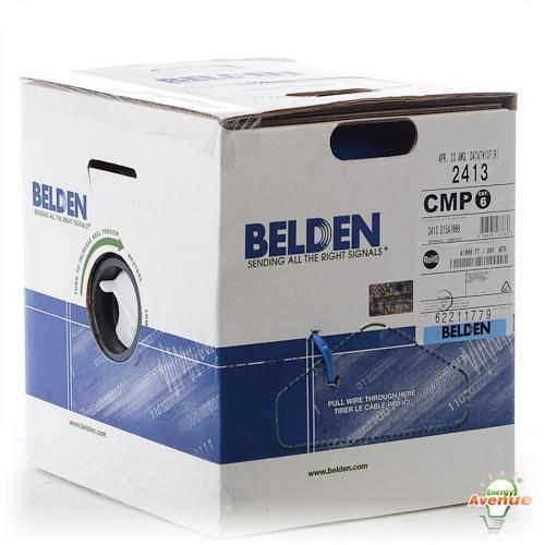 BELDEN CAT6+ CMP-LP BLUE PLENUM