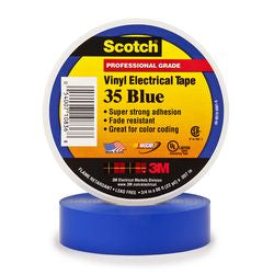 3M Blue Electrical Tape Scotch