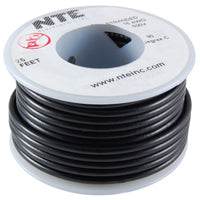 Hookup Wire 20Awg 25' Strand Black