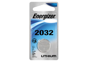 Energizer CR2032 3v Lithium Single pack