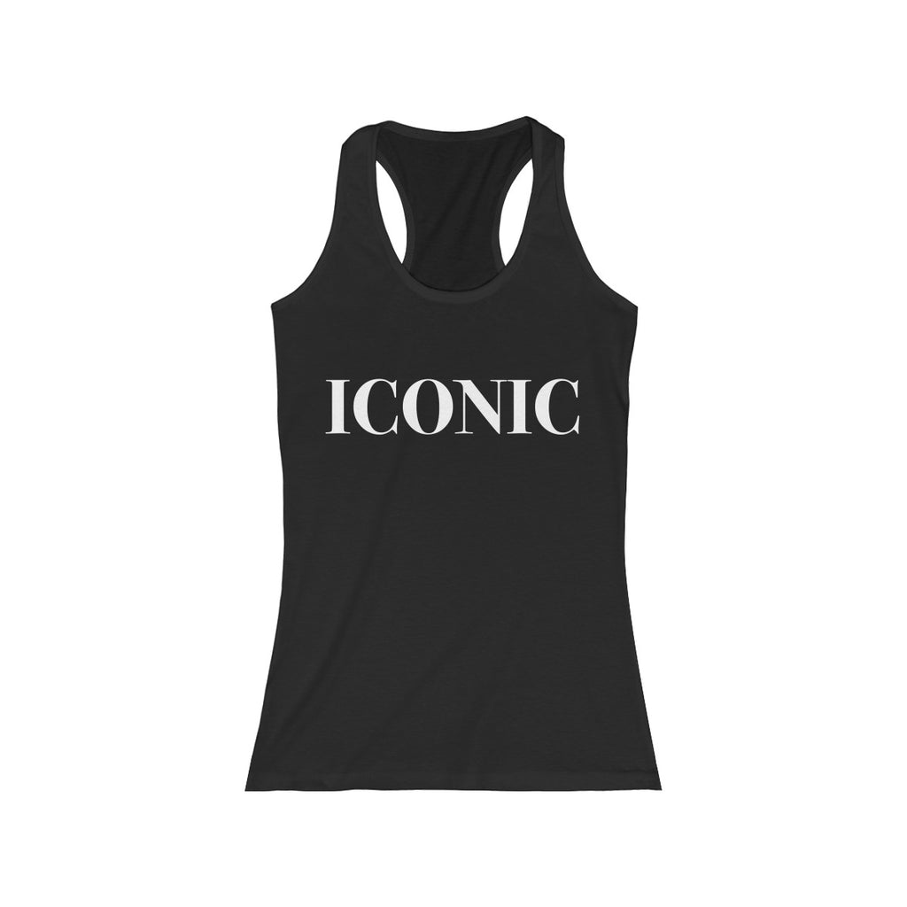 ICONIC berry Women's Racerback Tank