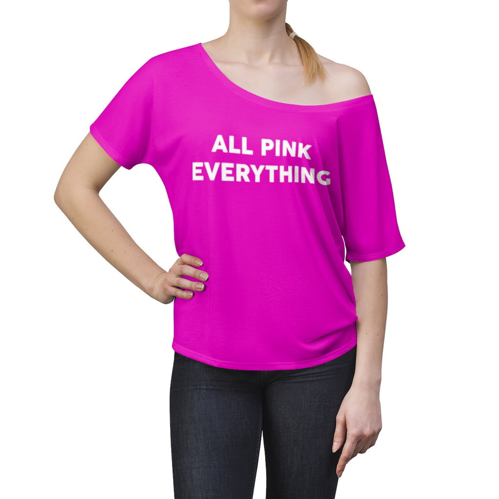 All Pink Everything Women's Slouchy top