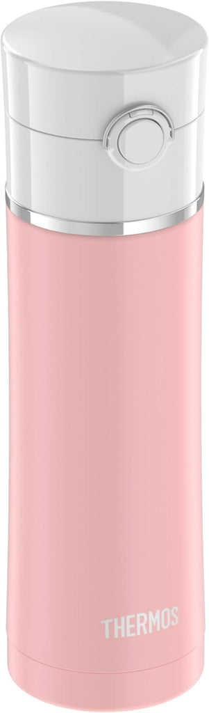 Sipp Stainless Water Bottle 16 Ounce Matte Pink