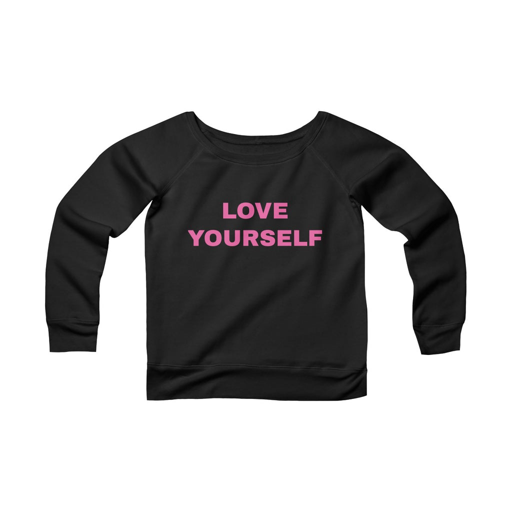 Love Yourself Fleece Soft Sweater
