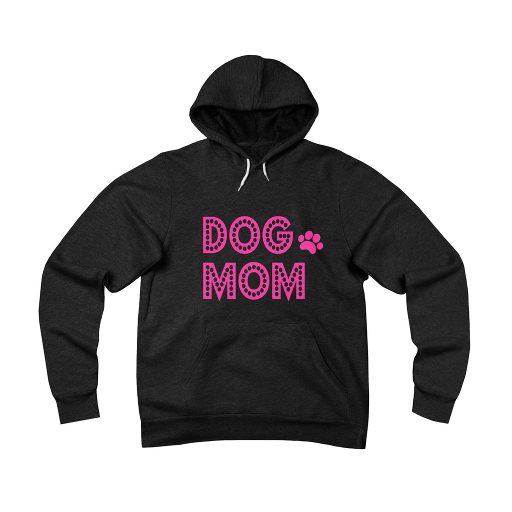 Dog Mom Sponge Fleece Pullover Hoodie