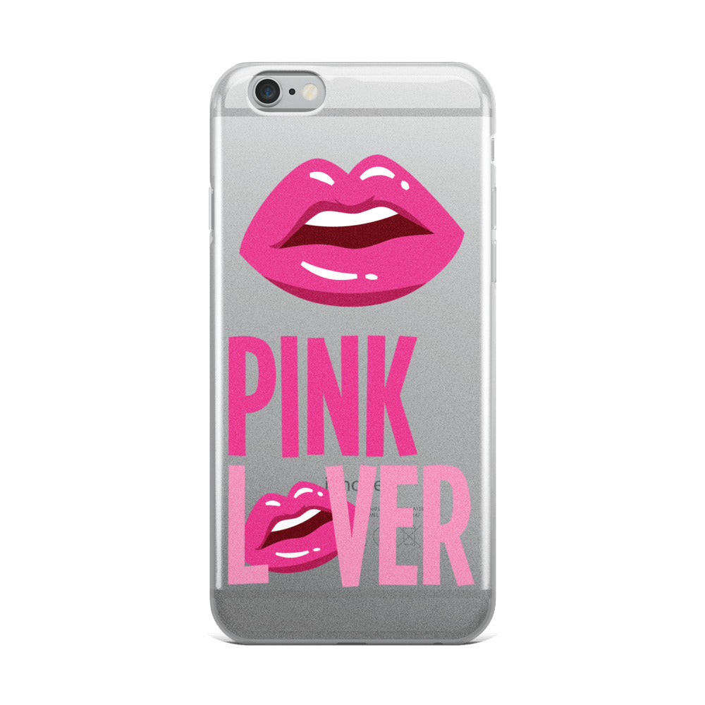 Pink Lover iPhone Case