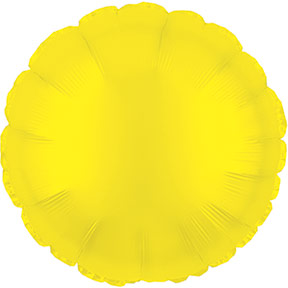 Sunshine Yellow Round