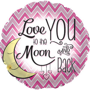 Love You to the Moon- Girl
