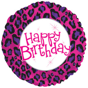Birthday Animal Print