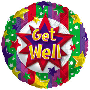 Get Well Colorful Burst