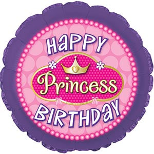 Happy Birthday Princess Pink Pearls