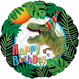 Happy Birthday Party Dinosaur