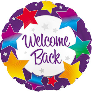 Welcome Back Rainbow Stars