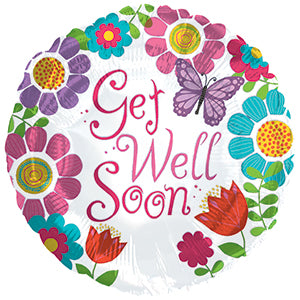 Get Well Soon Girl
