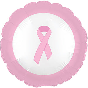 Breast Cancer Air-Filled Stick Balloon