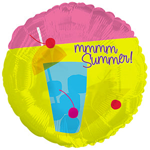 Summer Drink Air-Filled Stick Balloon