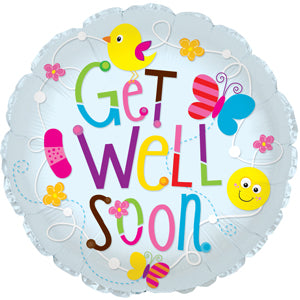 Get Well Soon Birds & Butterflies