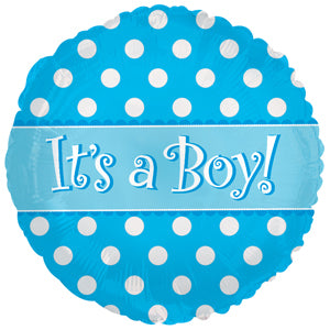 It's A Boy Dots