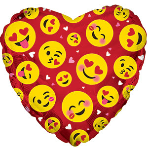 Emoticon Love Red