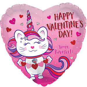 Happy Valentine's Day Caticorn