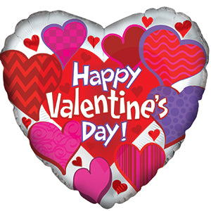 Happy Valentine's Day Graphic Patterns