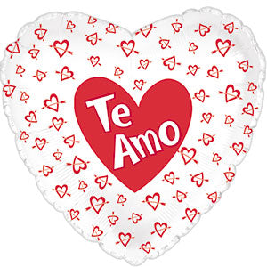 Te Amo Hearts w/Arrows White