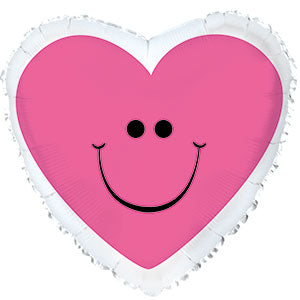 Pink Smiley Heart