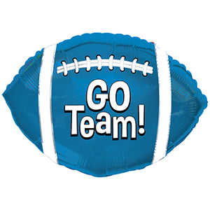 Go Team! Football Blue