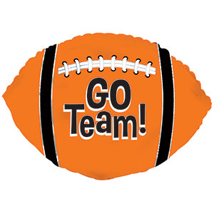 Go Team! Football Orange