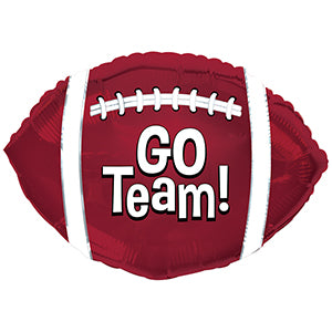 Go Team! Football Maroon