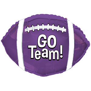 Go Team! Football Purple