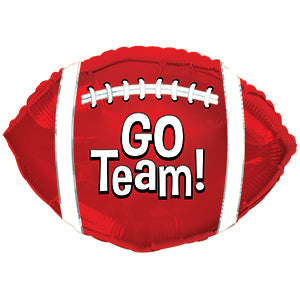 Go Team! Football Red