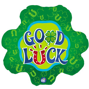 Good Luck Shamrock Shape