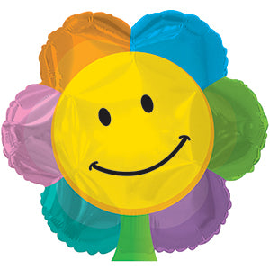 Smiley Face Flower Shape