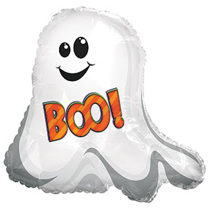 Boo Ghostie Air-Filled Stick Balloon
