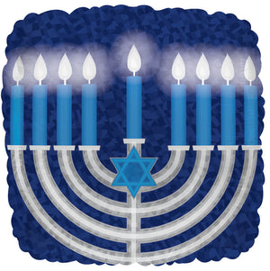 Menorah Air-Filled Stick Balloon