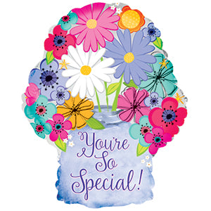 You're So Special Graphic Vase Air-Filled Stick Balloon