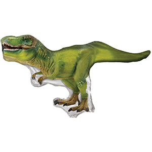 Tyrannosaurus Dinosaur Air-Filled Stick Balloon