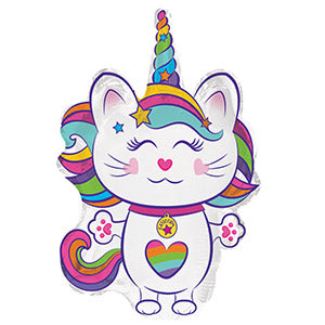 Caticorn Air-Filled Stick Balloon