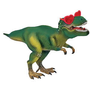 Dinosaur with Heart Glasses
