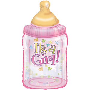 It's a Girl Baby Bottle