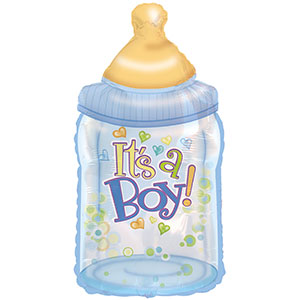 It's a Boy Baby Bottle