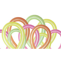 Assorted Neon 260 Twisties Latex