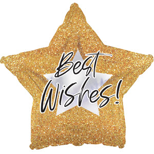 Best Wishes Glitter