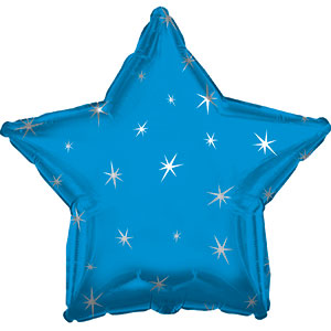 Blue Sparkle Star