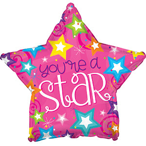 You're a Star Air-Filled Stick Balloon